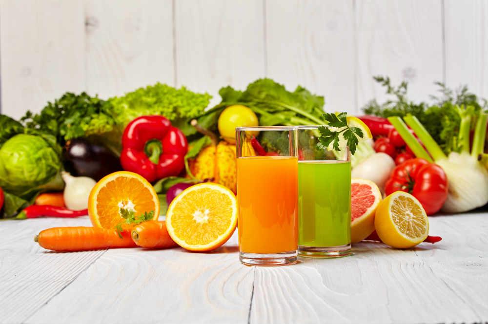méregtelenítés és fogyás gyümölcslevekkel
