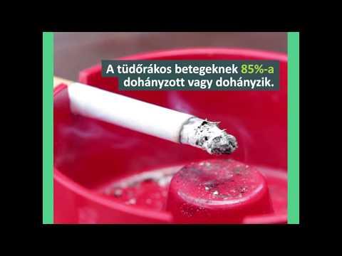 tüdőrákos cigaretta