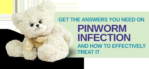 pinworm emberektől pinworm