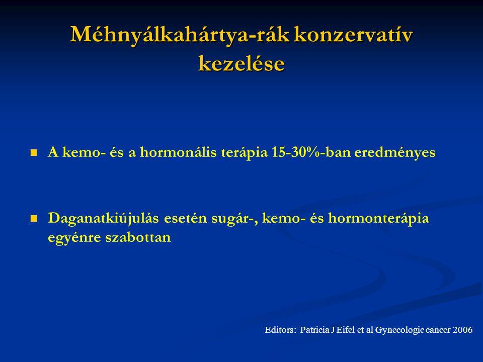 endometrium rák prognózisa